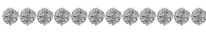 عرض الخط Aayat Quraan_034 Regular