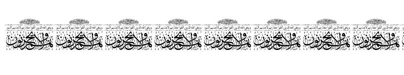 عرض الخط Aayat Quraan_038 Regular