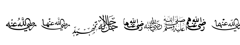 Preview of CTraditional Arabic Regular