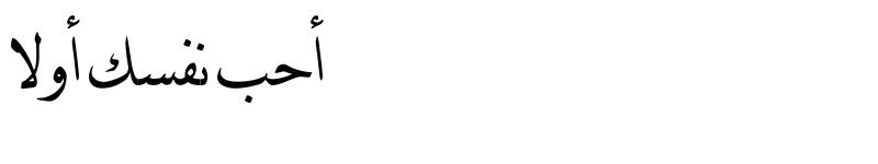 عرض الخط DecoType Naskh Extensions Regular